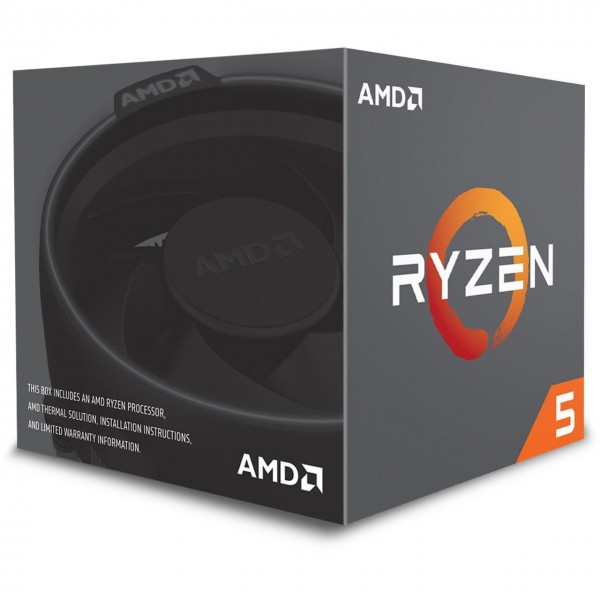 AMD Ryzen 2600X (6x 3,6GHz/ 4,2GHz - 12 Threads)