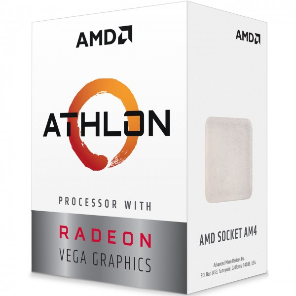 AMD Athlon 200GE (2x 3,2GHz/ - 4 Threads), Boxed