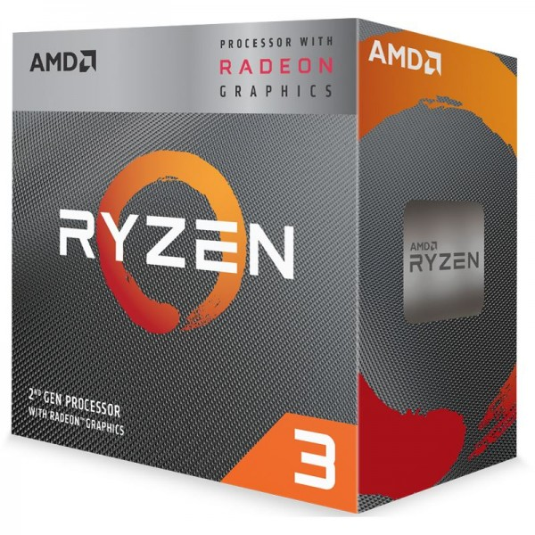AMD Ryzen 3200G (4x 3,6GHz/ 4,0GHz - 4 Threads), Boxed