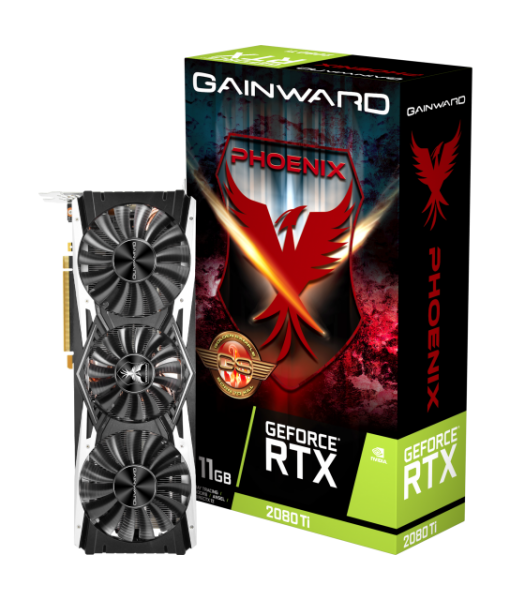 Gainward GeForce® RTX 2080 Ti 11GB Phoenix GS