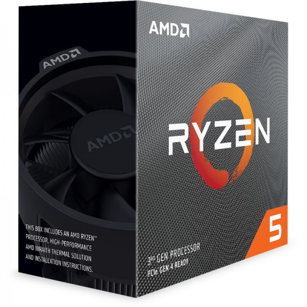 AMD Ryzen 3600 (6x 3,6GHz/ 4,2GHz - 12 Threads), Boxed